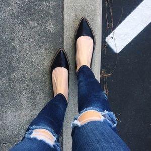 Shoes - Zara Black Flats